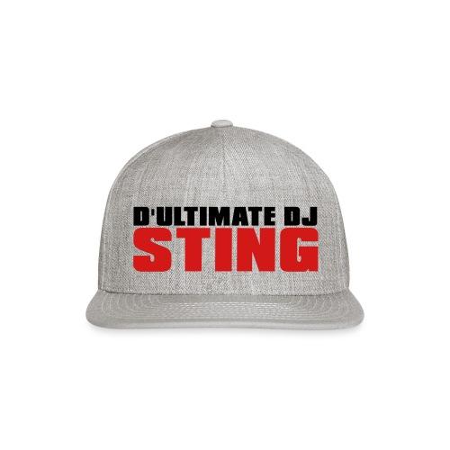 D Ultimate Sting LOGO - Snapback Baseball Cap