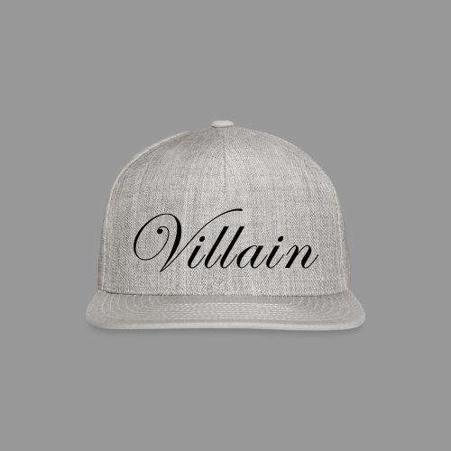 Villain - Snap-back Baseball Cap