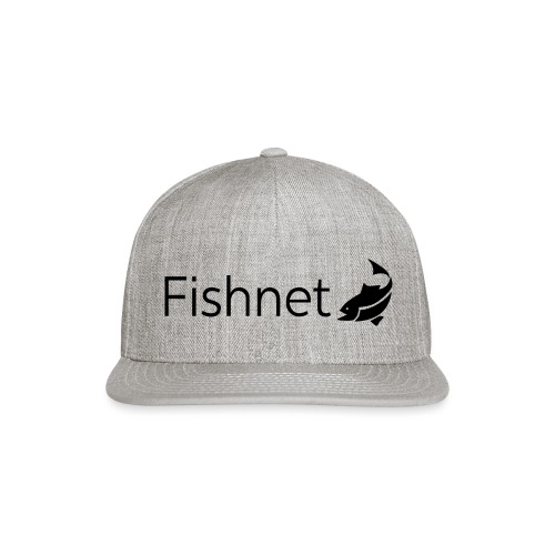 Fishnet (Black) - Snap-back Baseball Cap
