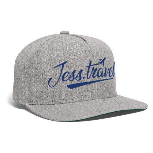 Jess Travel Logo LARGE Reverse - Snapback Baseball Cap