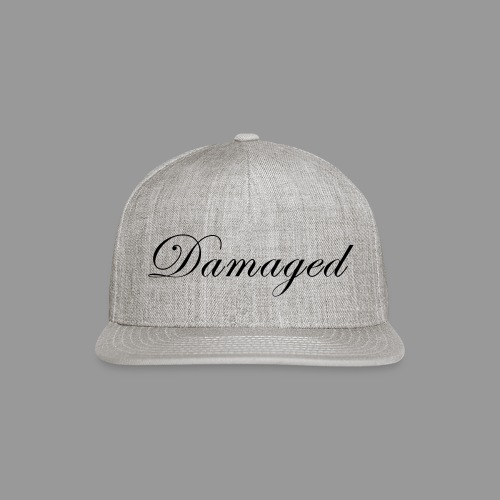 Damaged - Snap-back Baseball Cap