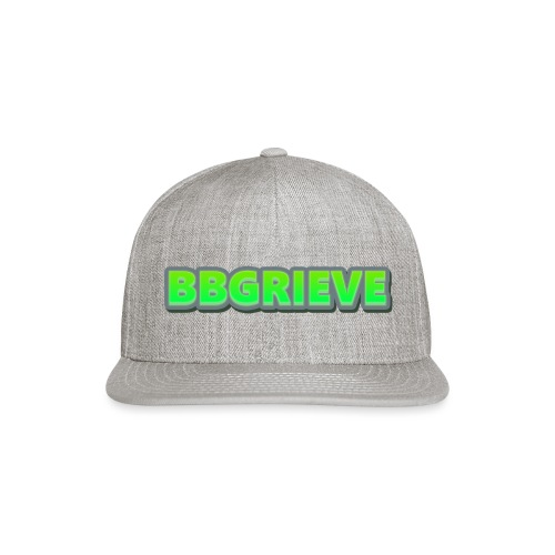 BBGrieve Large Logo - Snap-back Baseball Cap