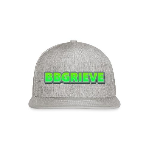BBGrieve Large Logo - Snapback Baseball Cap