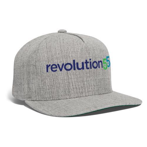 Revolution55 Logo - Snapback Baseball Cap