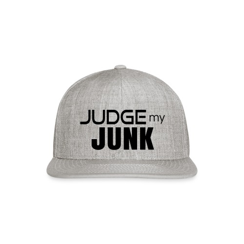 Judge my Junk Tshirt 03 - Snap-back Baseball Cap