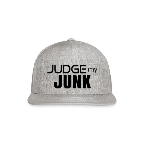 Judge my Junk Tshirt 03 - Snapback Baseball Cap