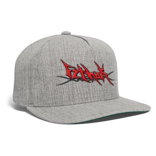 Blayde Logo (Red) - Snapback Baseball Cap