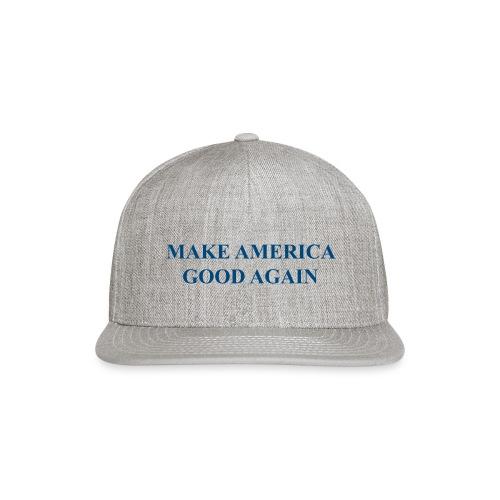 MAGOOA navy blue - Snap-back Baseball Cap