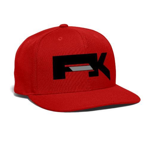 Chunky Symbol - Snapback Baseball Cap