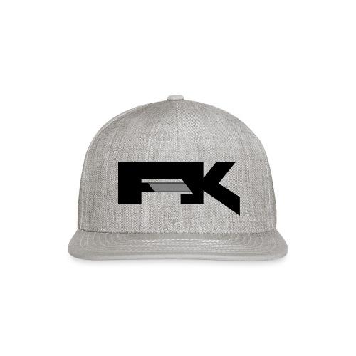 Chunky Symbol - Snap-back Baseball Cap