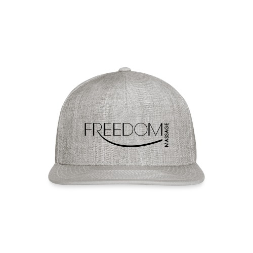 Freedom Massage Logo - Snap-back Baseball Cap
