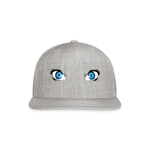 Glacier Blue Eyes - Snap-back Baseball Cap