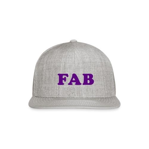 FAB Tank - Snap-back Baseball Cap