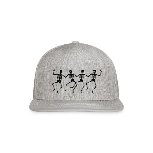 Dancing Skeletons - Snapback Baseball Cap