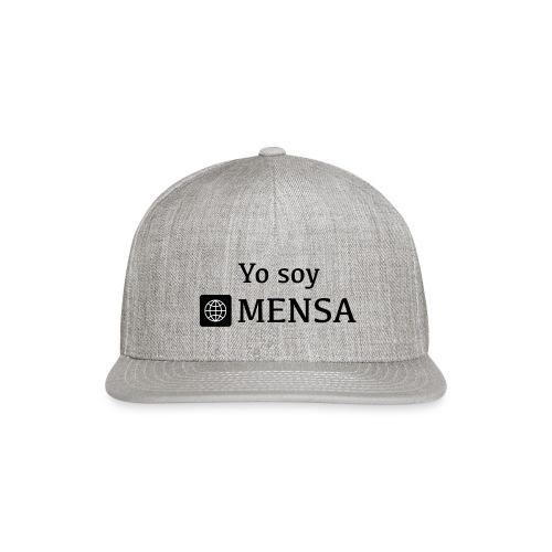 Yo soy MENSA - Snap-back Baseball Cap