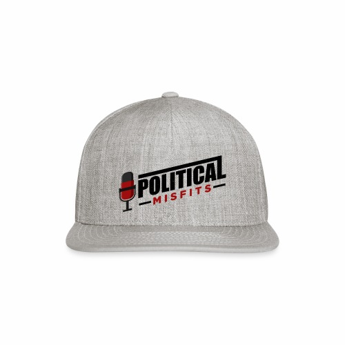Political Misfits Basic - Snap-back Baseball Cap