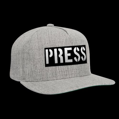 THIS is your PRESS PASS to the WORLD! - Snapback Baseball Cap