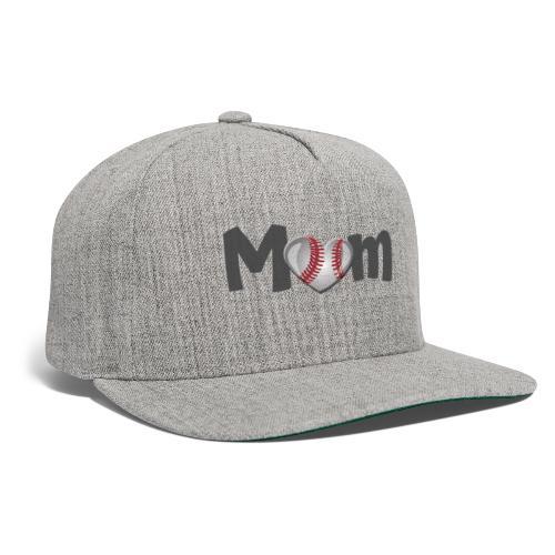 Baseball Mom - Snapback Baseball Cap