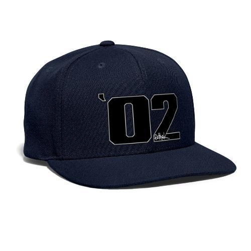 2002 (Black) - Snapback Baseball Cap