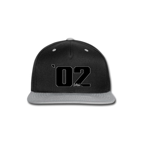 2002 (Black) - Snap-back Baseball Cap