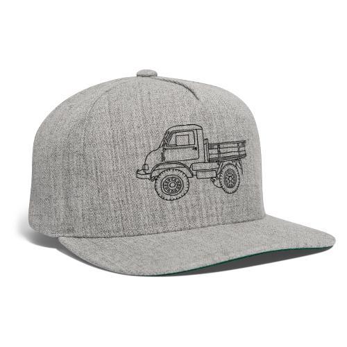 Off-road truck, transporter - Snapback Baseball Cap