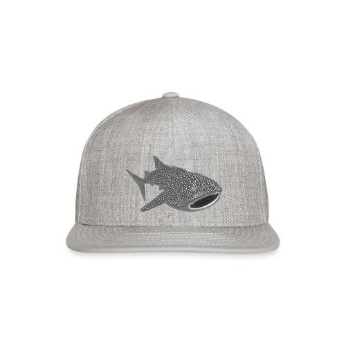 save the whale shark sharks fish dive diver diving - Snapback Baseball Cap