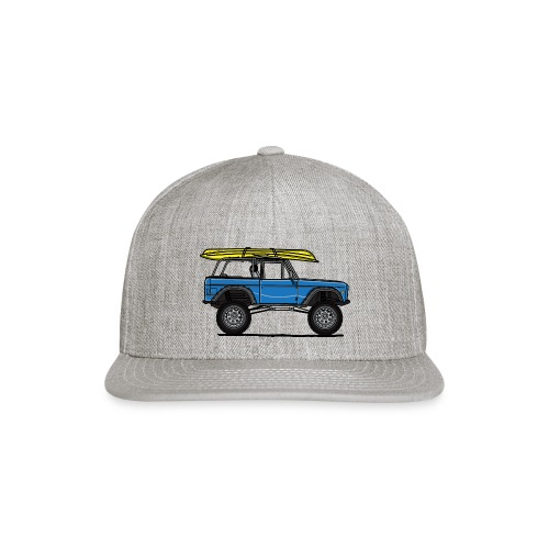 Ford Bronco Beach - Snapback Baseball Cap