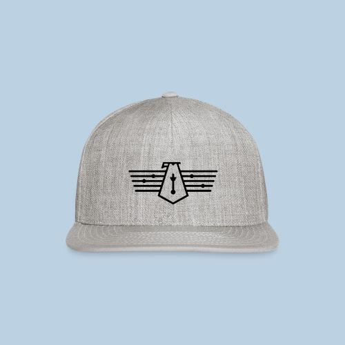 Westport Bird black on transparent - Snapback Baseball Cap