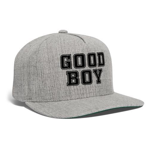 Good Boy Black (one sided) - Snapback Baseball Cap
