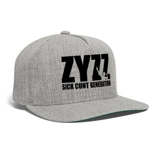 Zyzz Sickkunt Generation - Snapback Baseball Cap