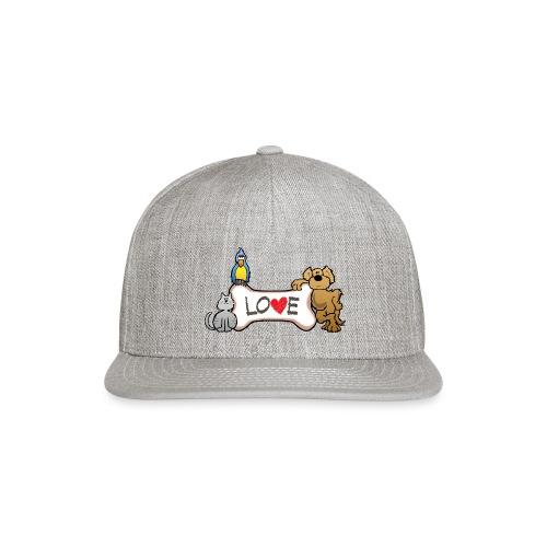 Pet Love - Snapback Baseball Cap