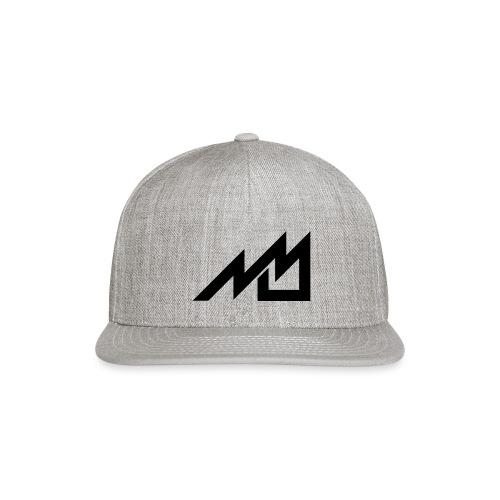 MrMan2247 Logo (black) - Snapback Baseball Cap