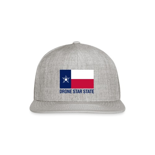Drone Star State - Long Sleeve - Snap-back Baseball Cap