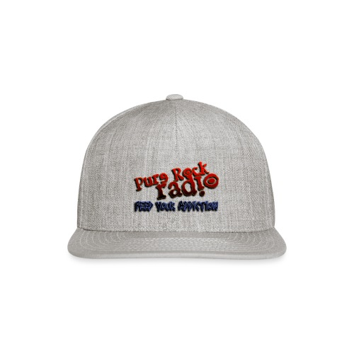 purerockradio feedaddiction transp 1300px - Snap-back Baseball Cap