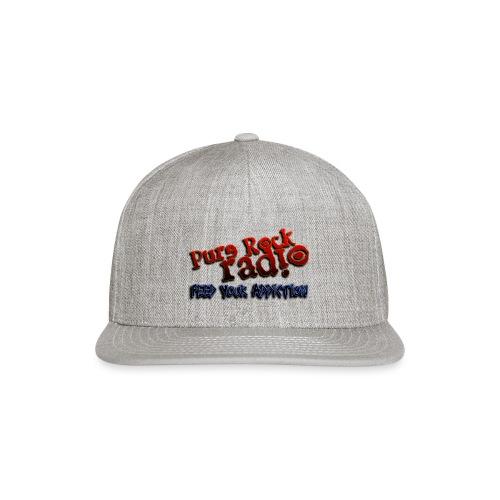 purerockradio feedaddiction transp 1300px - Snapback Baseball Cap