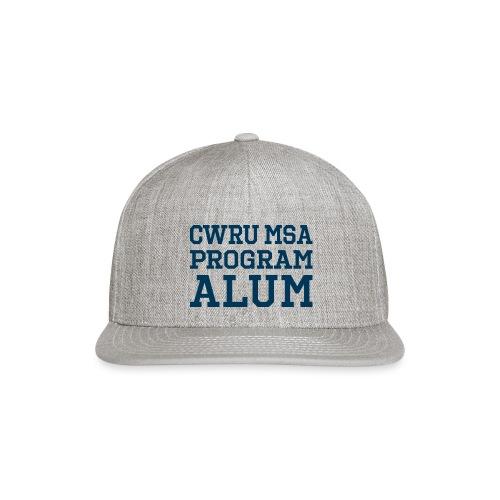 CWRU MSA Program Alum - Snapback Baseball Cap
