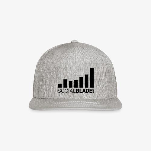Socialblade (Dark) - Snapback Baseball Cap