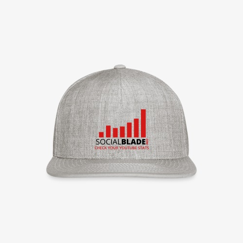 Traditional Logo Tagline - Snapback Baseball Cap