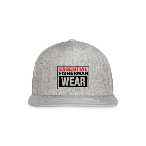 Essential Fisherman WEAR - Snap-back Baseball Cap
