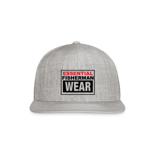 Essential Fisherman WEAR - Snapback Baseball Cap