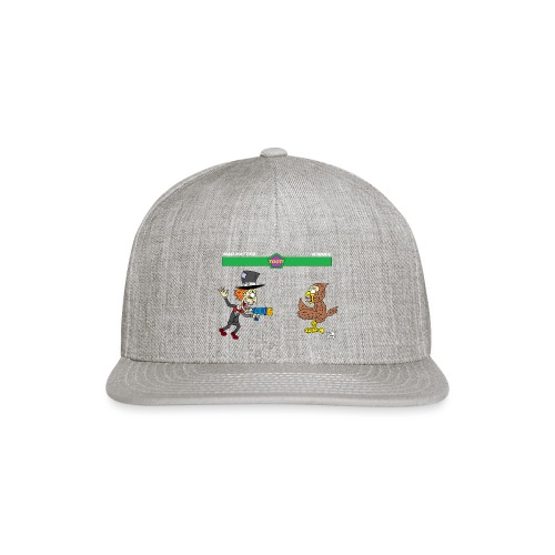 madhatter vs n00n00 - Snapback Baseball Cap
