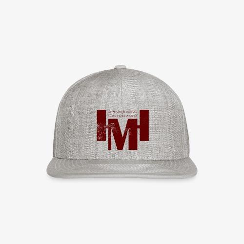 YouTube's Master Human: Grunge Underground Logo - Snap-back Baseball Cap
