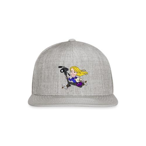 Jahnnalee and Gizmo the Chihuahua - Snapback Baseball Cap