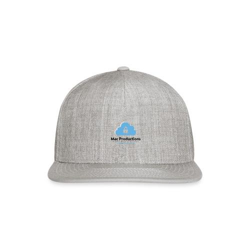 Mac Productions Cloud Backup Service - Snap-back Baseball Cap