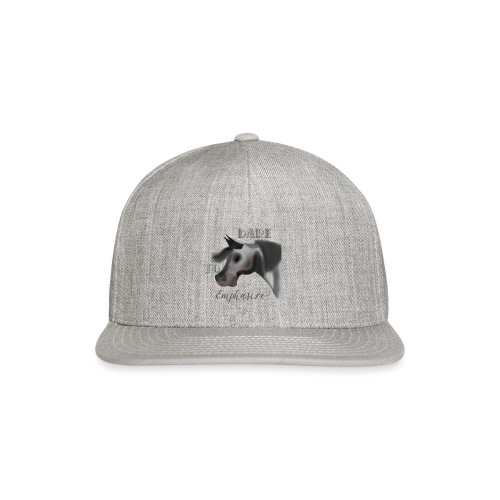 Dare to Emphasize Merch - Snap-back Baseball Cap