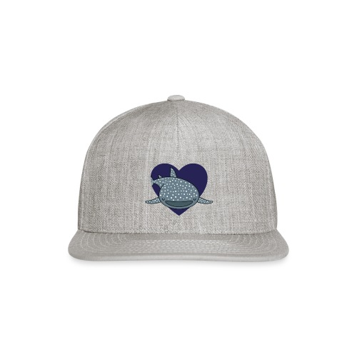 Whale Shark Love - Snap-back Baseball Cap