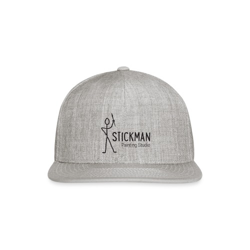 StickManLogo - Snap-back Baseball Cap