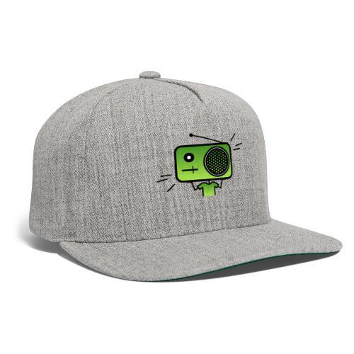 MusiqHead Green Ver 2 - Snapback Baseball Cap