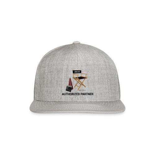 Mac Productions Authorized Partner Logo - Snapback Baseball Cap