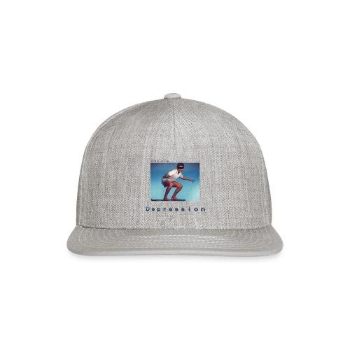Depression album merchandise - Snap-back Baseball Cap